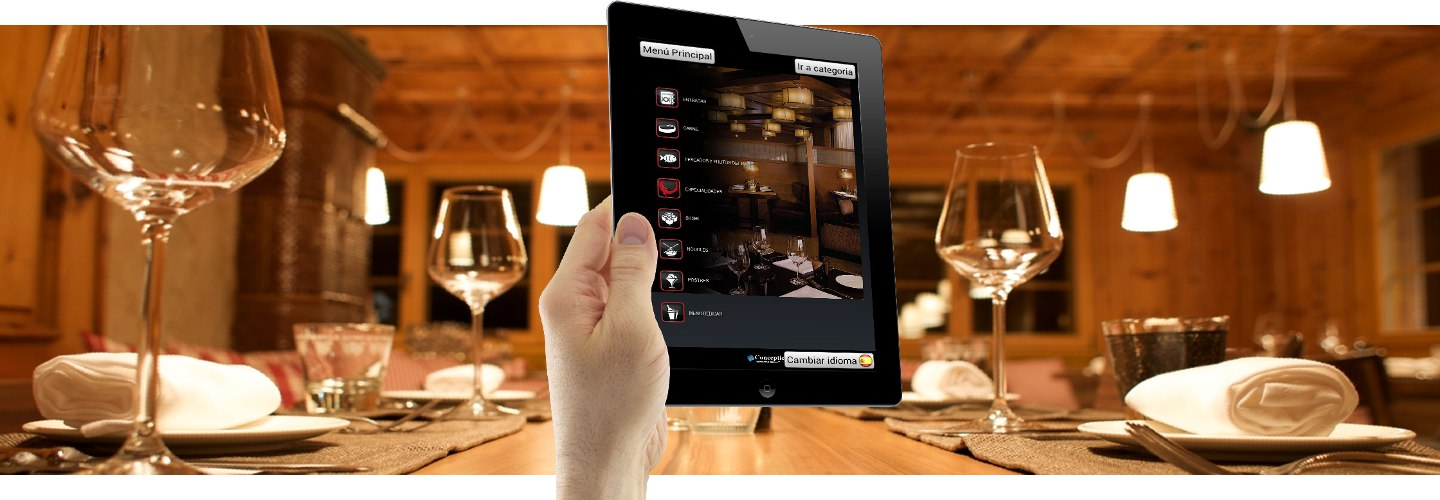 With POS Sector tablet menus your guests will get additional information about your offer
